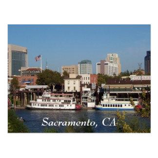 サクラメントのカリフォルニアの郵便はがき ポストカード
