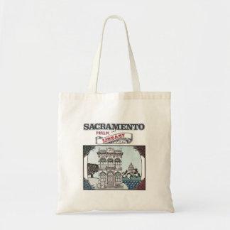 サクラメントの公共図書館のブックバッグ トートバッグ