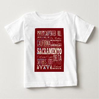 サクラメントの魅力そして有名な場所 ベビーTシャツ