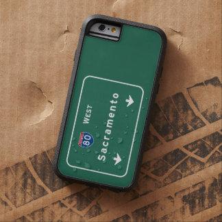 サクラメントカリフォルニアの州間幹線道路の高速道路: TOUGH XTREME iPhone 6 ケース