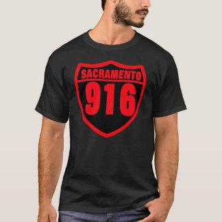 サクラメント、カリフォルニア(916) -- Tシャツ