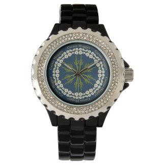 サグアロのサボテンの曼荼羅の腕時計2 腕時計