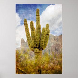 サグアロのサボテン ポスター