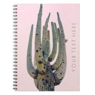 サグアロの切り出し の螺線形ノート ノートブック