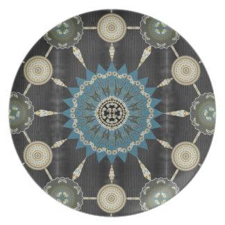 サグアロの曼荼羅のプレート2 プレート