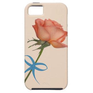 サケのバラのカスタマイズ可能なiPhone 5の場合 iPhone SE/5/5s ケース