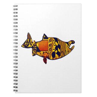 サケの操業 ノートブック