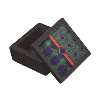 サザランドのスコットランド人の格子縞 ギフトボックス