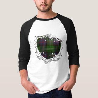 サザランドのタータンチェックのハート Tシャツ