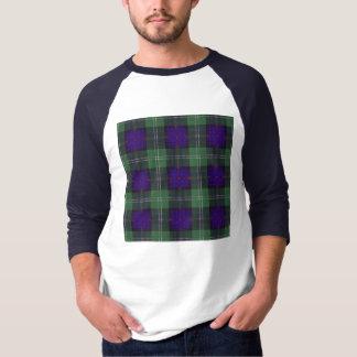 サザランドの一族の格子縞のスコットランド人のタータンチェック Tシャツ