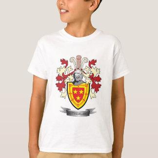 サザランドの家紋の紋章付き外衣 Tシャツ
