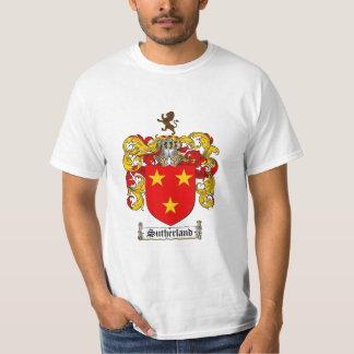 サザランドの家紋-サザランドの紋章付き外衣 Tシャツ