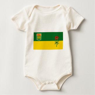 サスカチュワンの旗 ベビーボディスーツ