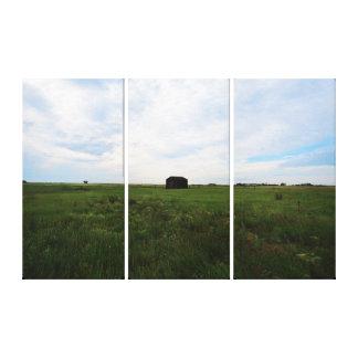 サスカチュワンの草原のキャンバスのプリント キャンバスプリント