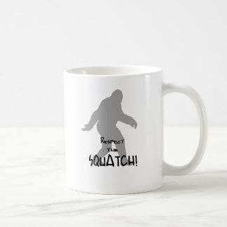 サスカッチのギフト コーヒーマグカップ