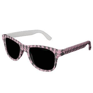 サスカッチのシルエットのサングラス-ピンク サングラス