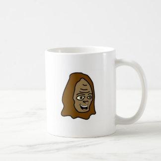 サスカッチのヘッド打撃のマグ コーヒーマグカップ