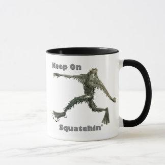 サスカッチのマグ マグカップ