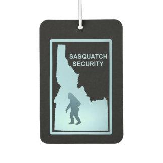 サスカッチの保証-アイダホ カーエアーフレッシュナー