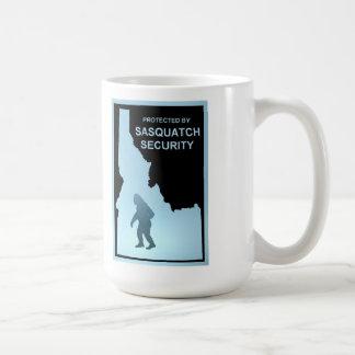 サスカッチの保証-アイダホ コーヒーマグカップ