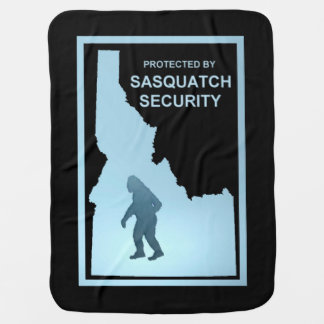 サスカッチの保証-アイダホ ベビー ブランケット