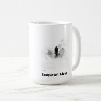サスカッチはマグ住んでいます コーヒーマグカップ