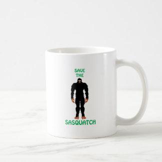 サスカッチを救って下さい コーヒーマグカップ