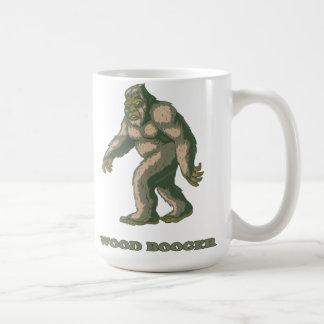 サスカッチ: 木製のBoogerのコーヒー・マグ コーヒーマグカップ