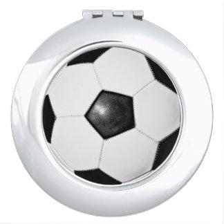サッカーのお母さんのギフトのアイディアのコンパクトの鏡