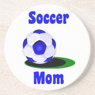 サッカーのお母さんのコースター コースター