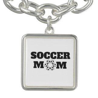 サッカーのお母さんのネックレス ブレス