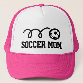 サッカーのお母さんの帽子 キャップ