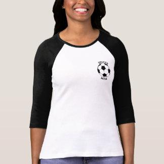 サッカーのお母さん-私の息子は看守のRaglanのワイシャツです Tシャツ