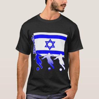 サッカーのイスラエル共和国のTシャツ Tシャツ