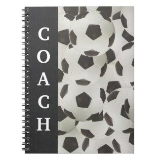 サッカーのコーチの脚本 ノートブック