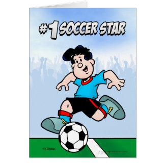 サッカーのスター カード