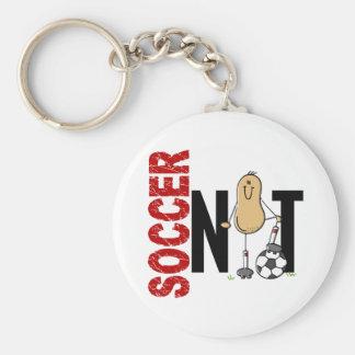 サッカーのナット1 キーホルダー