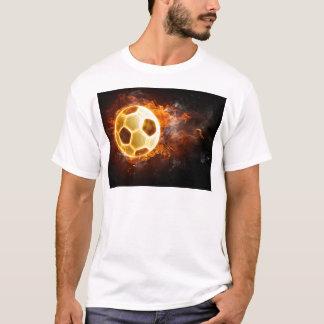 サッカーのフットボール Tシャツ
