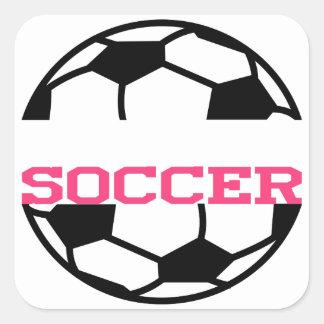 サッカーの一流の低下 スクエアシール