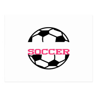 サッカーの一流の低下 ポストカード