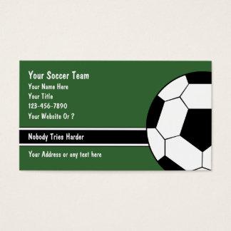サッカーの名刺 名刺
