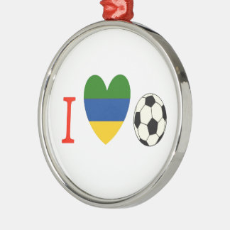 サッカーの季節 メタルオーナメント