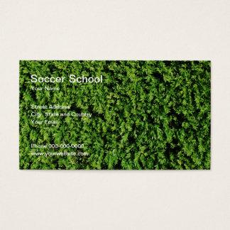 サッカーの学校の名刺 名刺