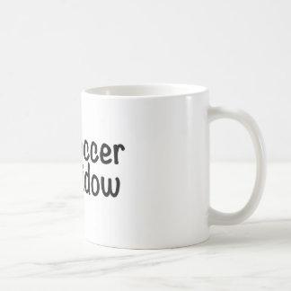 サッカーの寡婦 コーヒーマグカップ