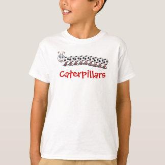 サッカーの幼虫、カスタマイズ幼虫- Tシャツ