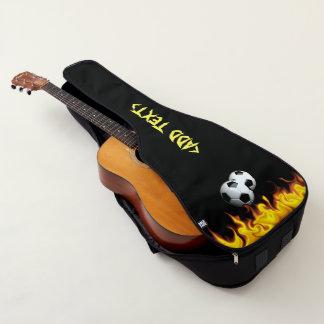 サッカーの炎 ギターケース