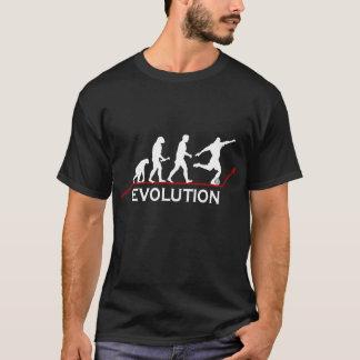 サッカーの進化のTシャツ Tシャツ