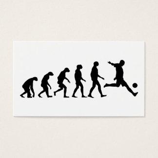 サッカーの進化 名刺