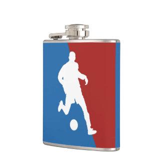サッカーの選手のカスタムのフラスコ フラスク