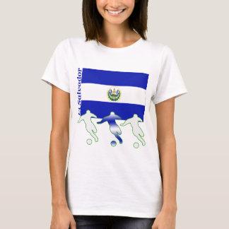 サッカーの選手-エルサルバドル Tシャツ